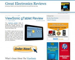 Electronics Review Website For Sale