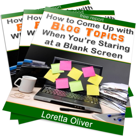 How to Come Up with Blog Topics When You're Staring at a Blank Screen