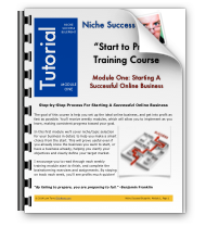Niche Success Blueprint Tutorials