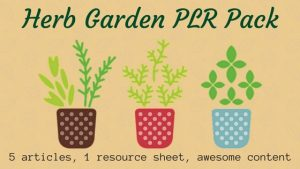 Herb Gardening PLR Articles