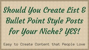 easy to create content that people love