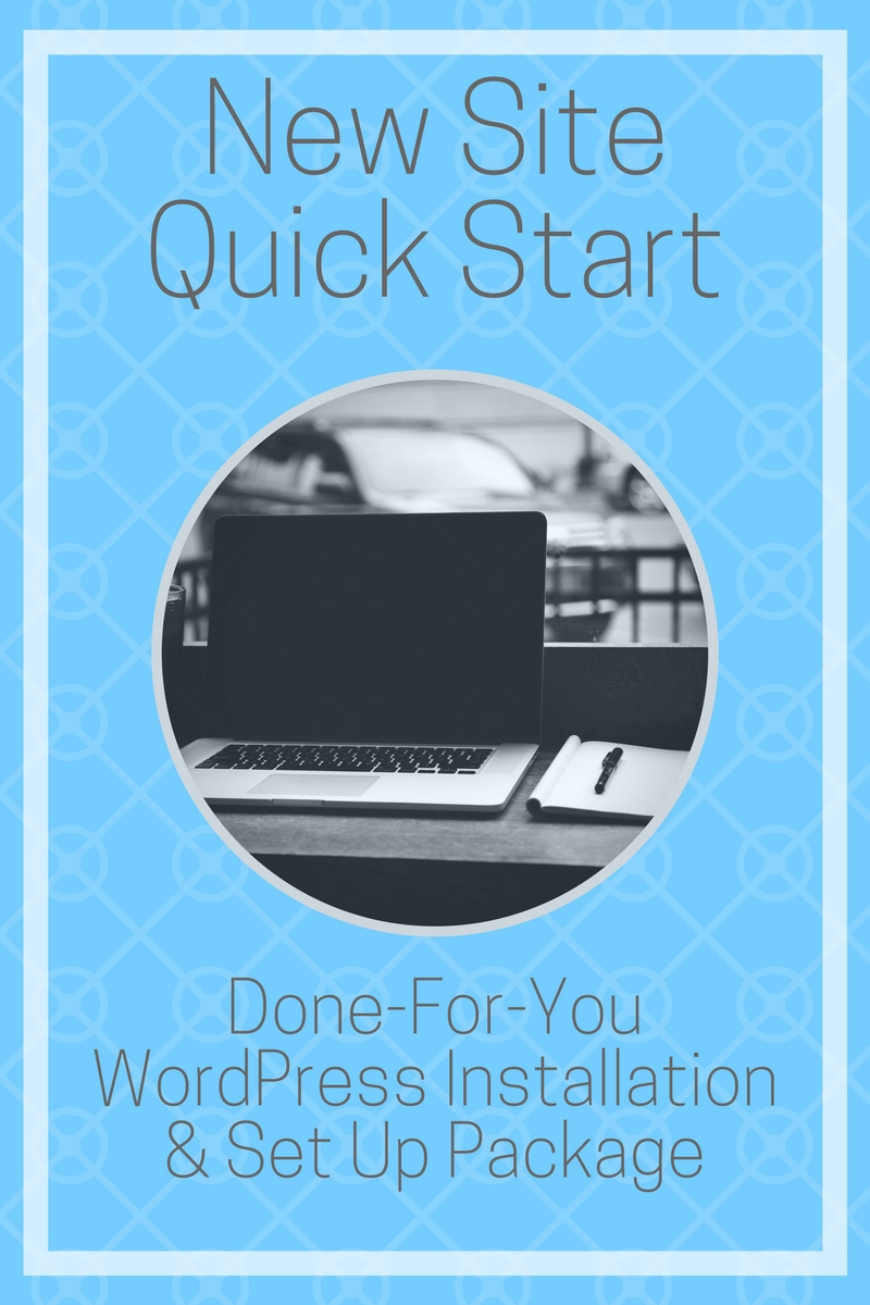 Done-For-You WordPress Installation and Set Up Package