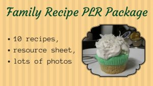 Family Recipe PLR Package