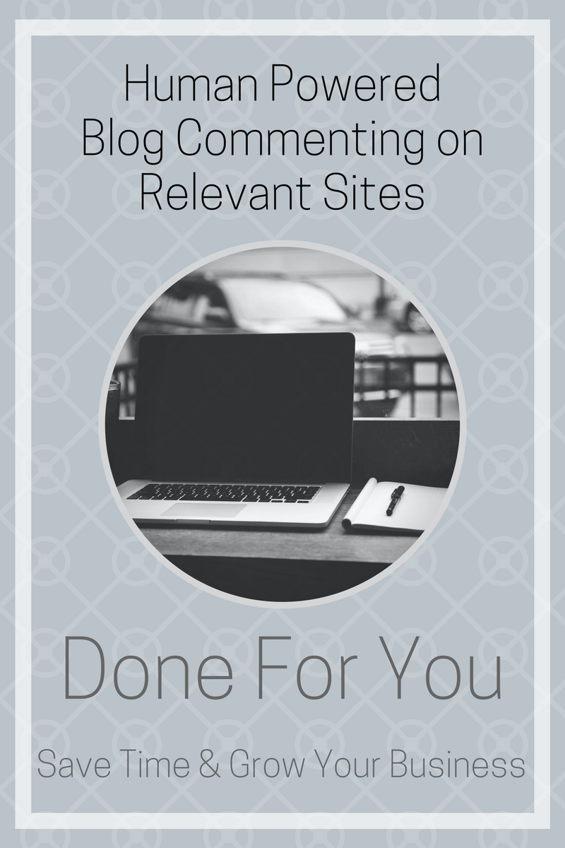 Human powered blog commenting on relevant sites done for you. Monthly packages at $150.