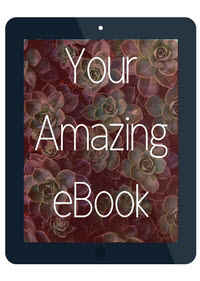 Imagine your amazing ebook - done and ready to profit.