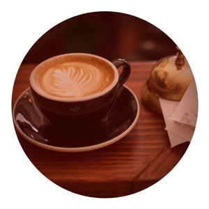 You'll spend less on PLR content than on this fancy cup of coffee.