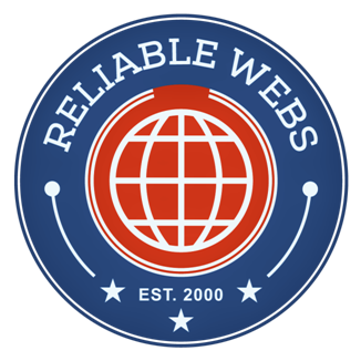 reliable webs hosting service logo